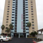 Main Building Mustang Towers-Port-Aransas